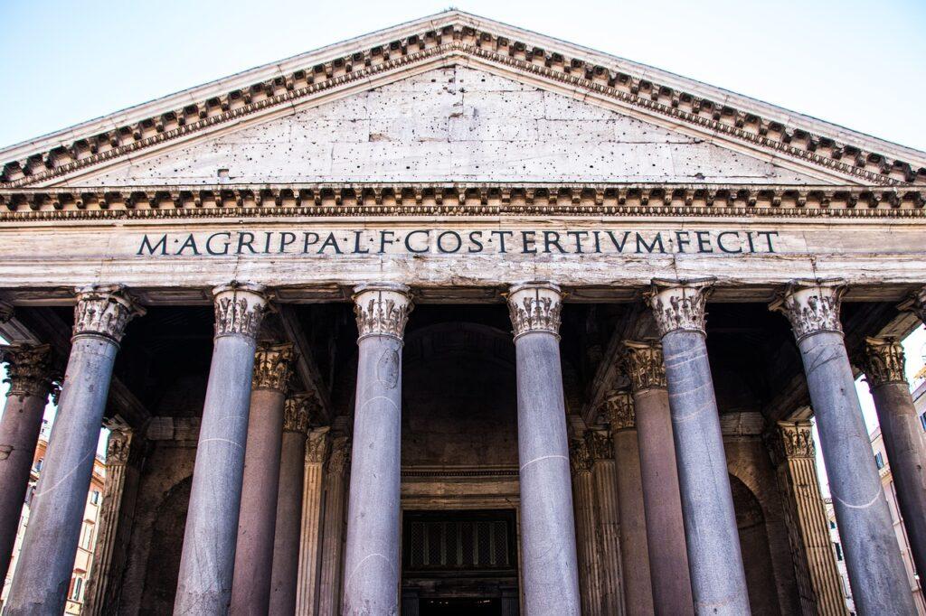 architecture, pillars, historical