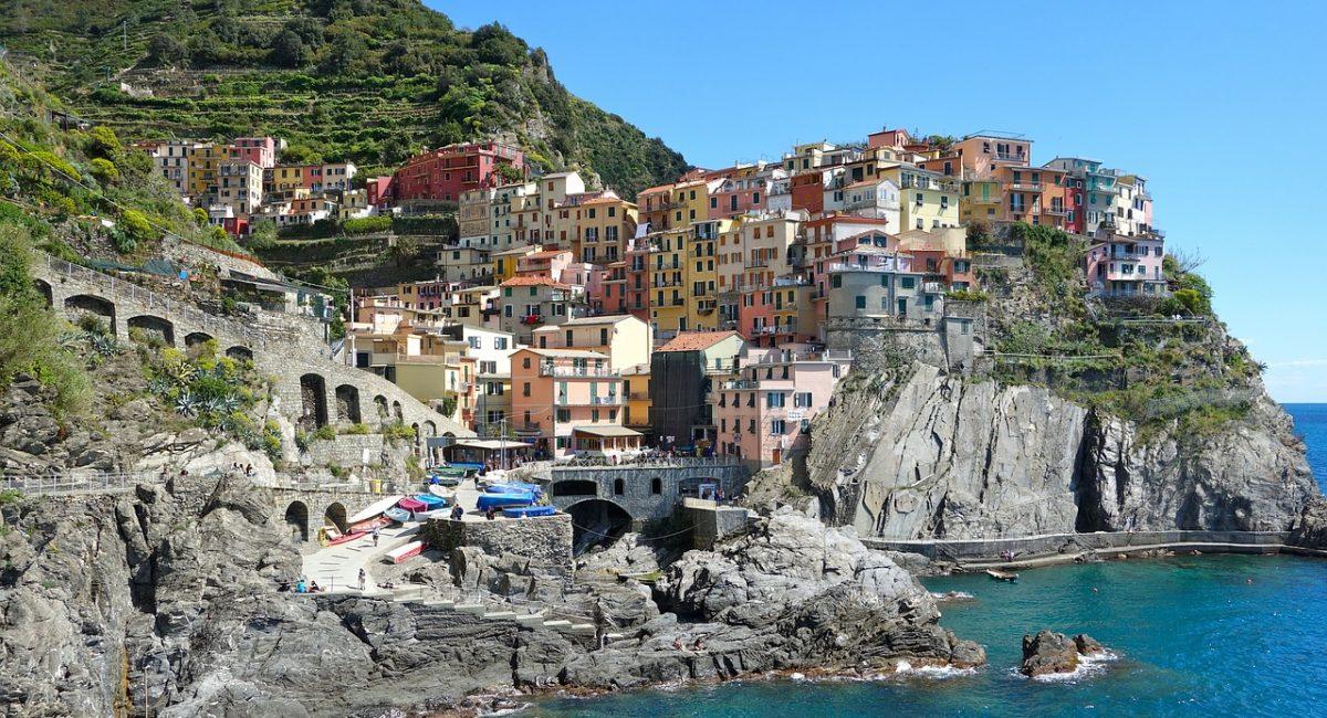 coast, sea, village